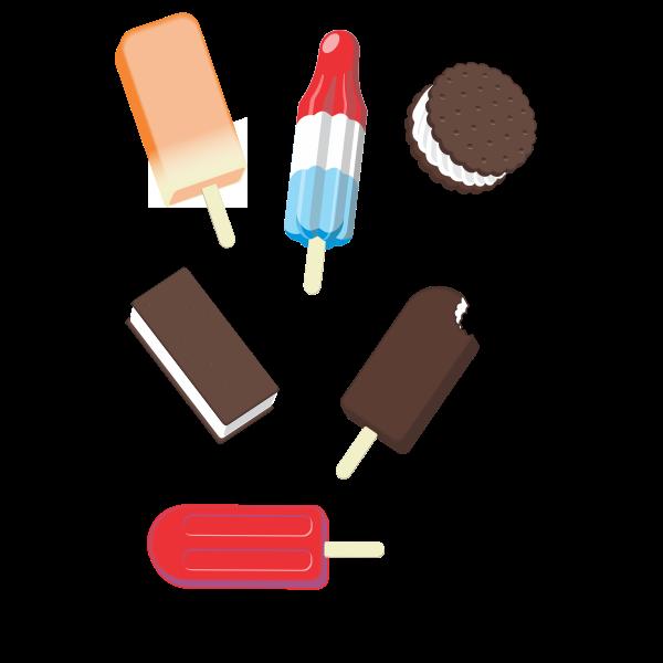 popsicle Ice Cream mix