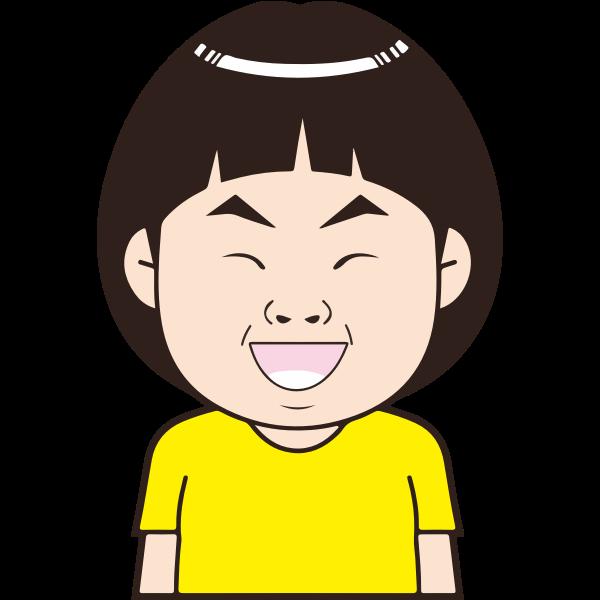 Laughing Asian Boy