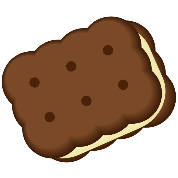 Creme filled Cookie