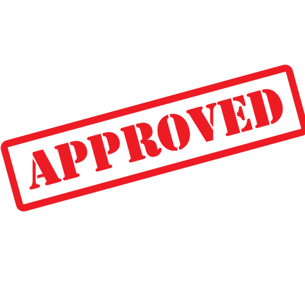 Approved sticker graphics