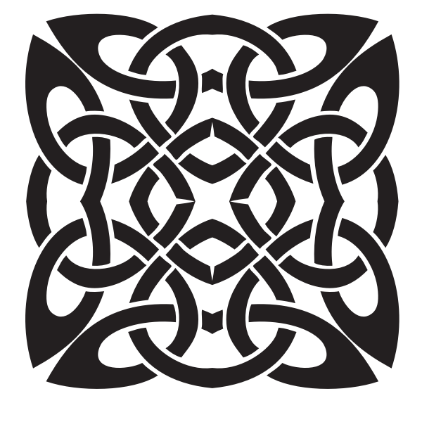Celtic knot clip art