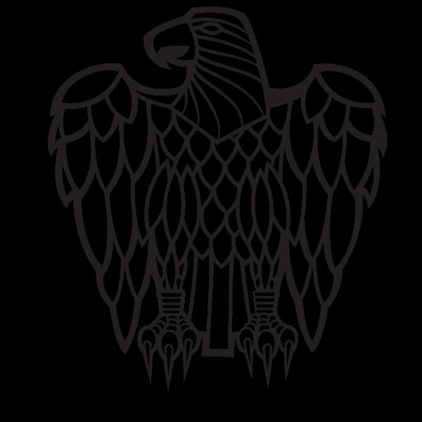 Eagle silhouette graphics