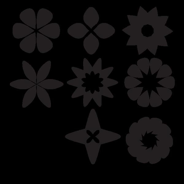 Design elements silhouette