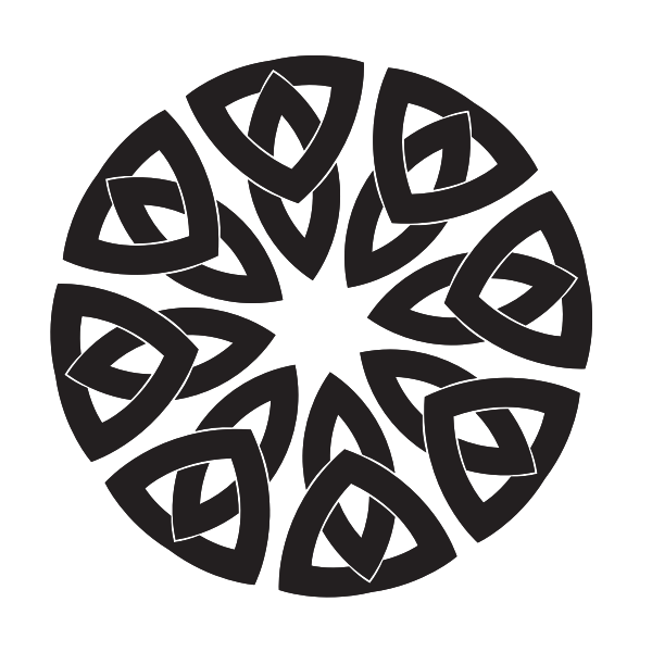 Celtic knot shape