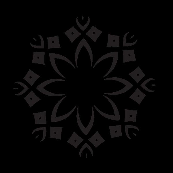 Floral graphic design