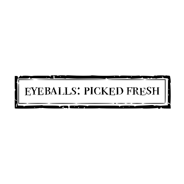 Eyeballs : Picked Fresh Printable Label