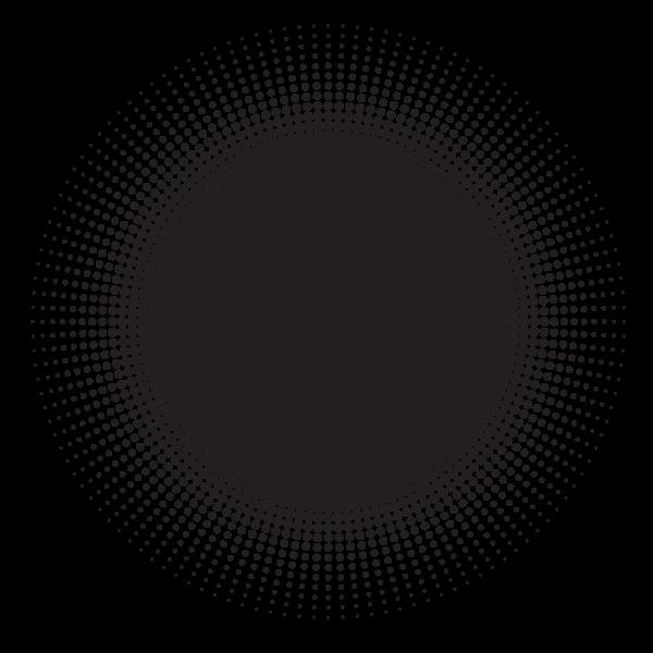 Halftone graphic element