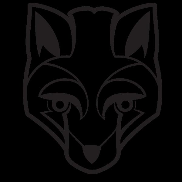 Fox silhouette clip art
