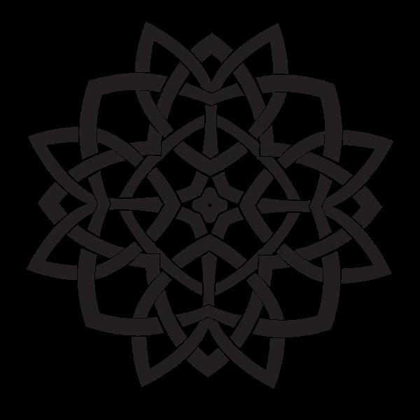 Celtic shape design