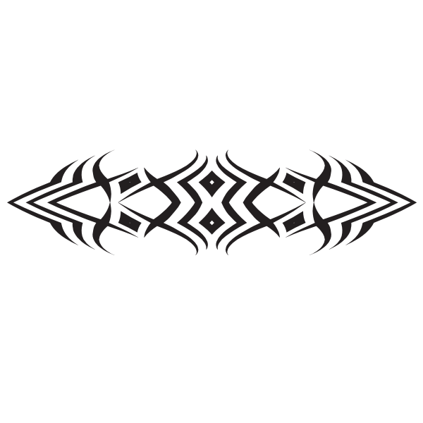 Tribal tattoo design art