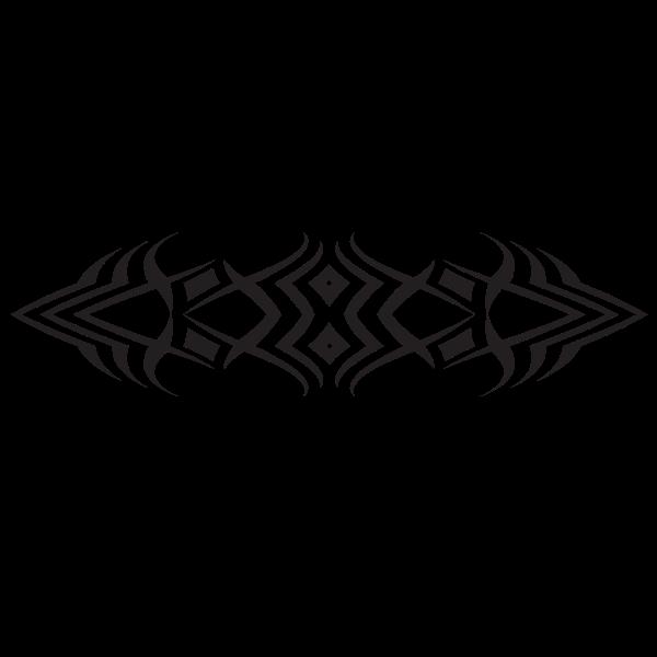 Tribal tattoo design art