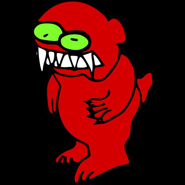 Cartoon Monster Bear