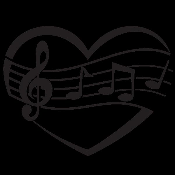 Music clip art concept