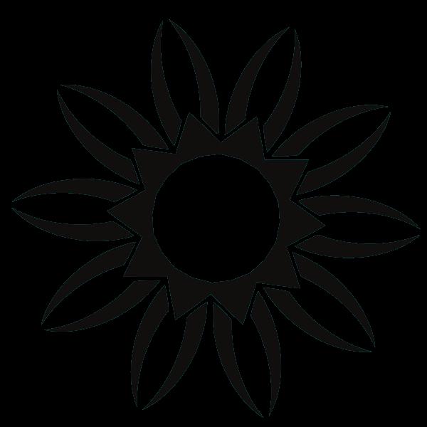 Logo shape silhouette