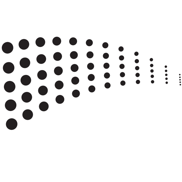 Dotted pattern black dots