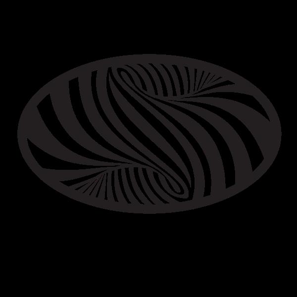 Zebra pattern clip art