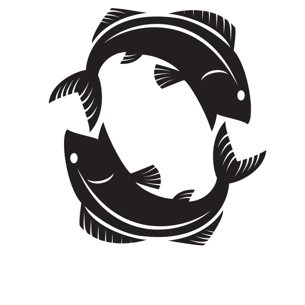 Fish horoscope symbol clip art