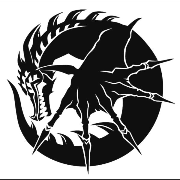 Tribal Dark Dragon