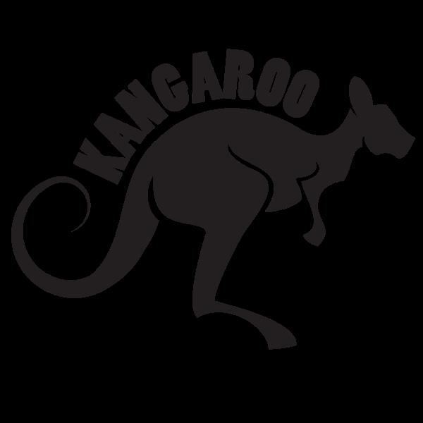 Kangaroo silhouette cut file