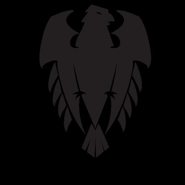 Eagle silhouette cut file