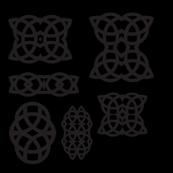 Celtic knots design