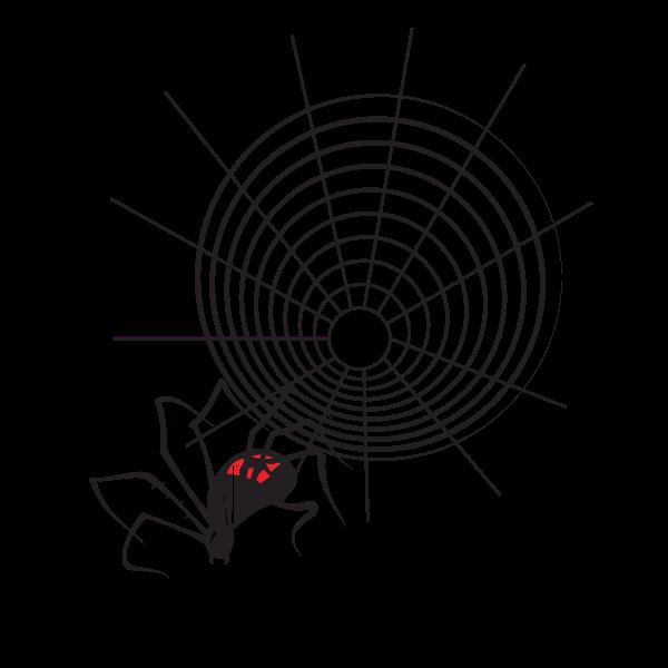 Spider net clip art