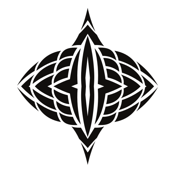Tribal graphic symbol