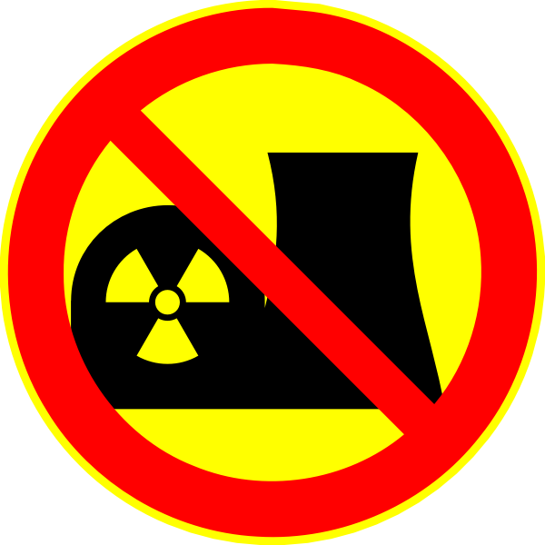 Antinuclear logo