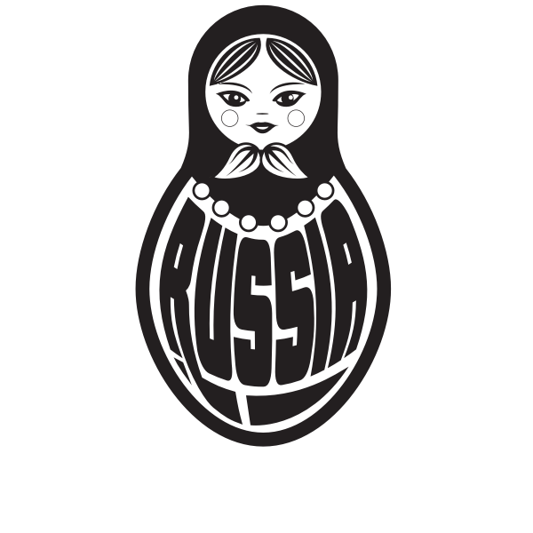 Russian doll silhouette