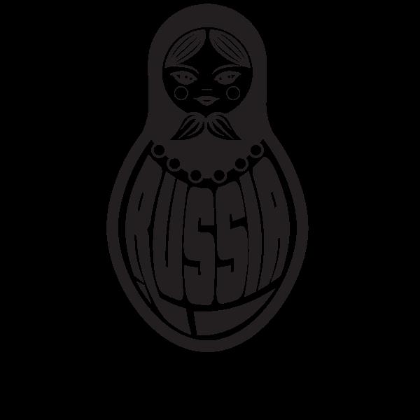 Russian doll silhouette