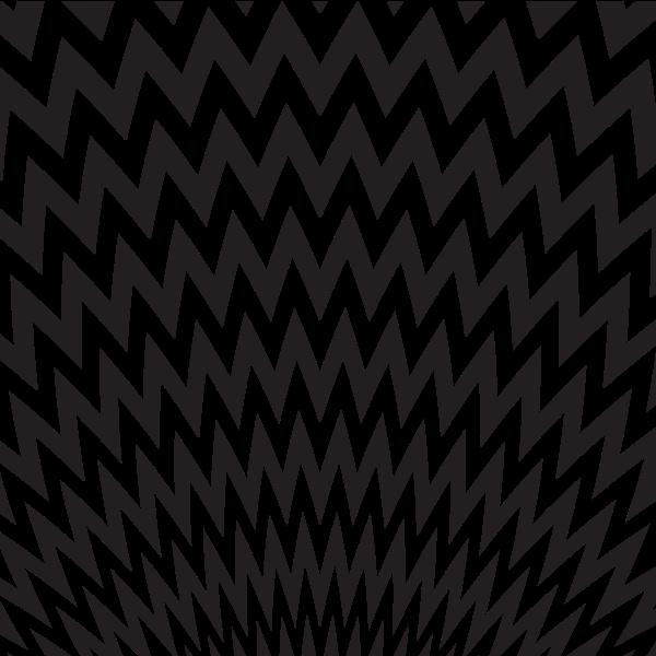 Black zigzag pattern