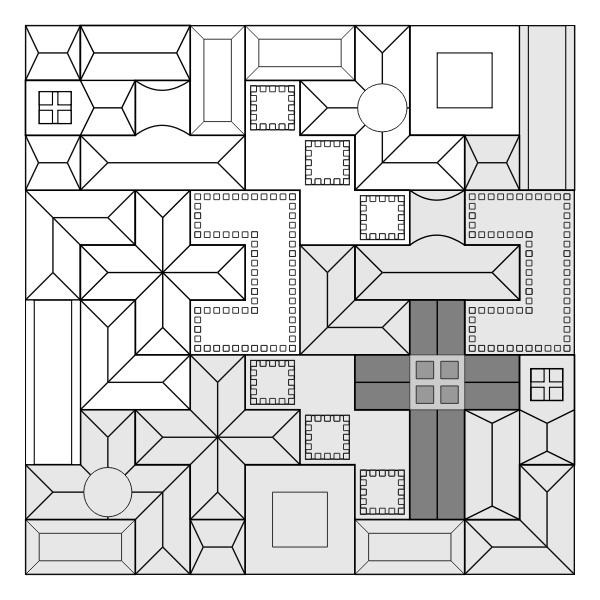 Basilica wood puzzle