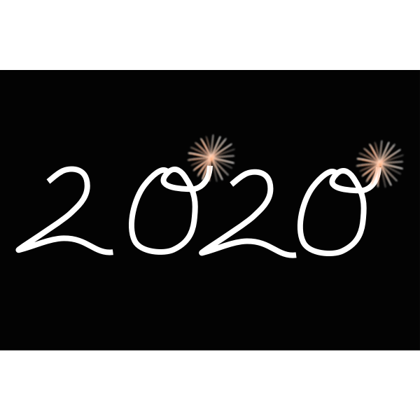 new year 2020 free svg new year 2020 free svg