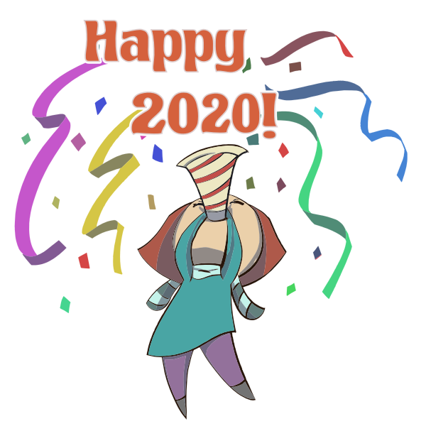 Happy 2020 Woman