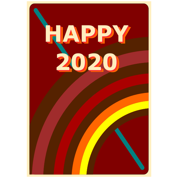 Retro Happy 2020