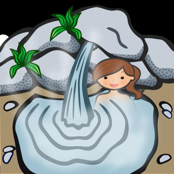 Hot Springs Lady