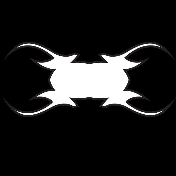 Tattoo shape silhouette