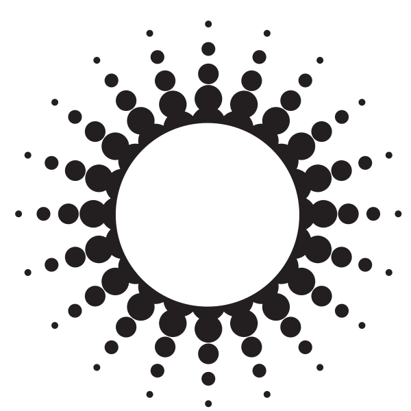 White circle with halftone effect