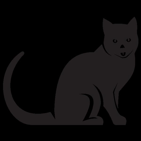 Black cat cut file