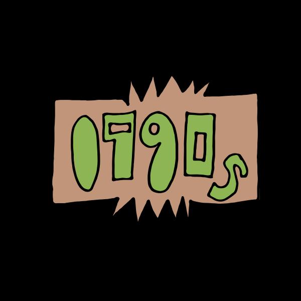 1990s Era Logo