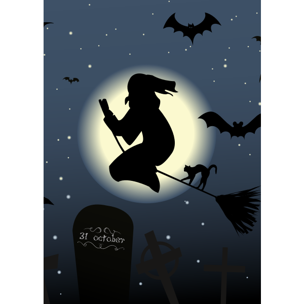 Animated Halloween Card - Revised