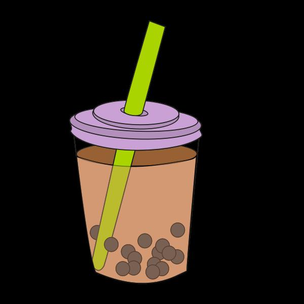 Bubble Tea Cup Free Svg