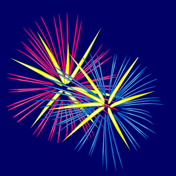 Animated Fireworks 1