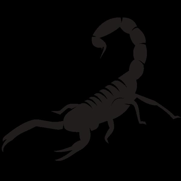 Scorpion silhouette clip art-1576774256