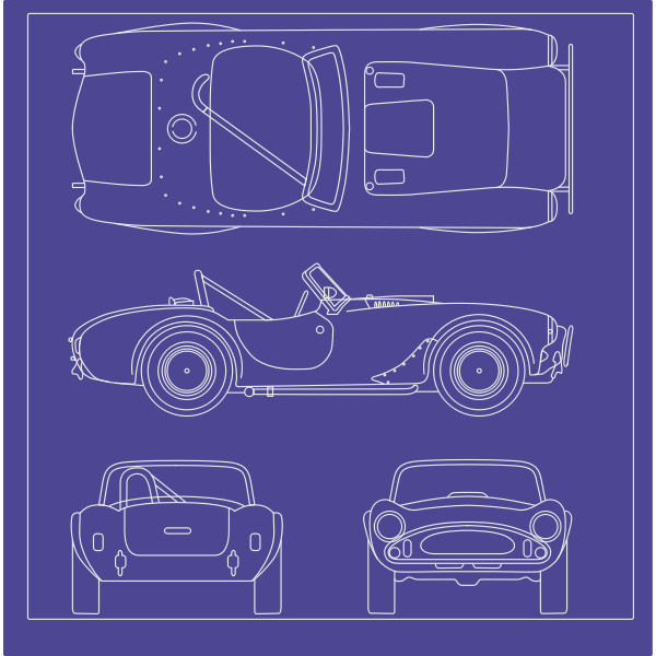 Blueprints car