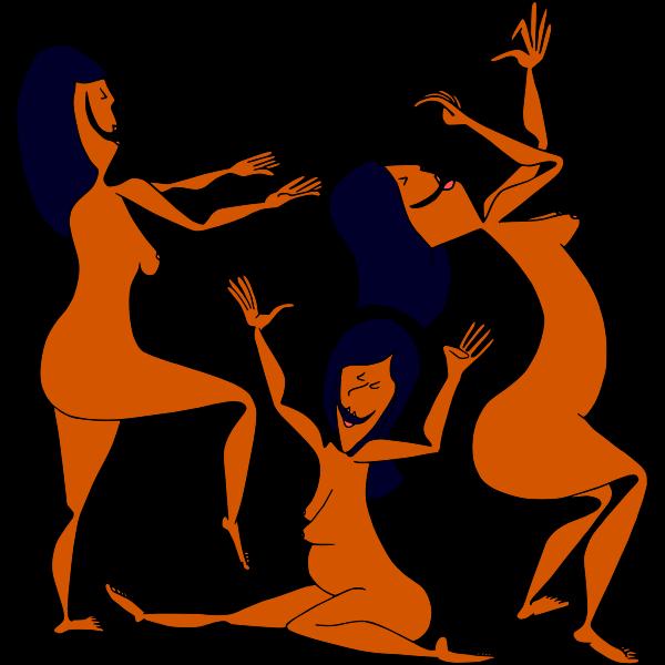 Dancing egyptians