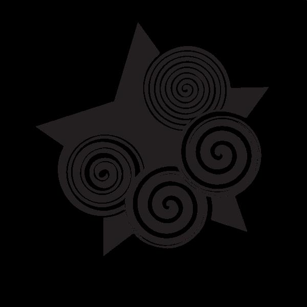 Star decorative design element