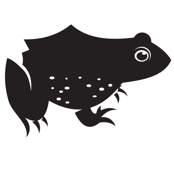 Frog silhouette-1579115882