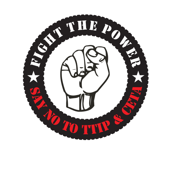 Fight the power sticker