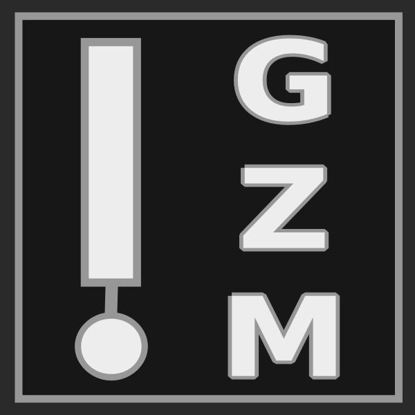 GZM Icon stencil